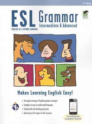 Esl Grammar Intermediate With Advanced Online Quizzes By Munoz Page, Mary Ellen