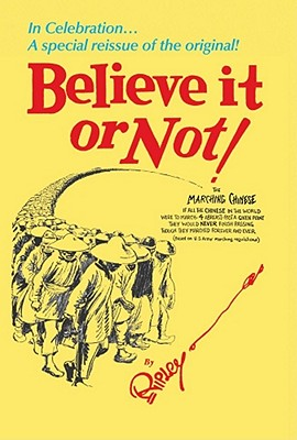 Believe It Or Not! By Ripley, Robert Le Roy